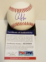 Aaron Judge Signed New York Yankees Rawlings Official MLB Baseball SS PSA/DNA...