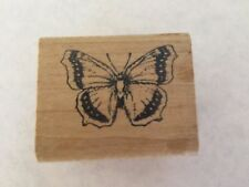 Vintage HERO ARTS 1982 Butterfly Rubber Stamp
