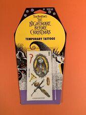 1993 Tim Burton's Nightmare Before Christmas Temporary Tattoos Disney