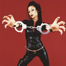 Police Handcuffs Silver STEEL Double Lock Hand Cuffs w/Keys Cool  Halloween