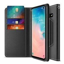 Samsung Galaxy S10 Case w/ Card Slot Side Pocket Magnetic Closure