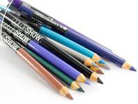 Maybelline COLORSHOW Bright Colour Eye Liner Eyeliner Pencil Grey Blue Purple