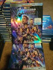 AVENGERS End GAME  BLU RAY 2 DISC With SLIPCOVER like new