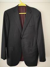 Raffaele Caruso Sartorial Parma charcoal grey superfine 150's wool suit 50 UK 40