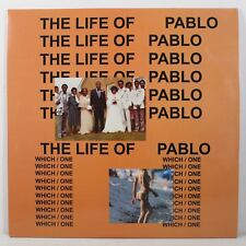 "Kanye West - The Life Of Pablo [2LP] Vinyl 12"" Record 2016 33 RPM X/1000"