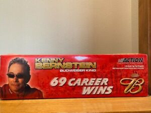Kenny Bernstein 2003 Budweiser Dragster by Action, LE of 4,212, unopened styrofo