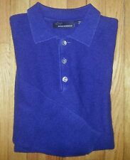 285c M Solid Navy Blue GREG NORMAN Sweater Polo!
