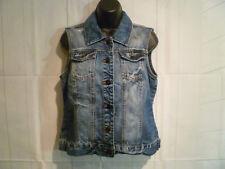 ONLY - Women's Jeans Vest Chris Paint Waistcoat Denim EUR Size 40