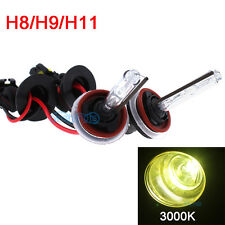 HID H8 3K Yellow Xenon Gas Replacement Fog Light/Bulb For GTI/325/911/Cooper YR