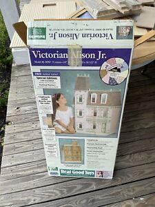 Victorian Alison Jr. Model J-M907 Wood Doll House Kit UNASSEMBLED Open Box, READ