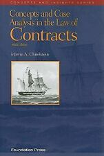 Concepts and Case Analysis in the Law of Contracts, 6th Concepts & Insights