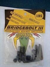 BRIDGEBOLT Skateboard NOS Bolts Dogtown Grind King VINTAGE + Sticker Old SCHOOL