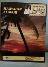 Hawaiian Flavor EASY PLAY SPEED MUSIC-SIGHT & SOUND SYSTEMS 1970's