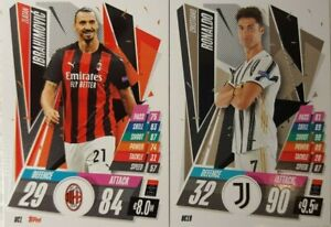 Topps - UEFA Champions League Match Attax 2020/21 SQUAD Update Card Set of 32