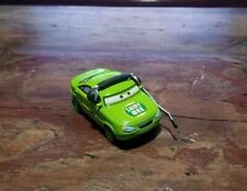 Disney Pixar Cars World Of Cars Senior Trax Shiny Wax Crew Loose Displayed Only!
