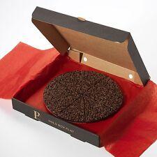 """Empresa De Pizza Gourmet Chocolate Doble Dark & Delicious 7"""" oscuro belga Caja De Regalo"""