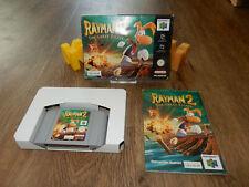 PAL N64: Rayman 2: The Great Escape OVP Boxed Box Manual Nintendo 64