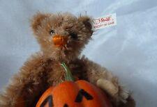 Steiff Ewiger Kalender Teddybär Teddy Bär mit Halloweenkürbis Kalenderbär Oktobe