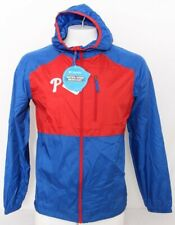 NEW Philadelphia Phillies Red Columbia Flash Forward Windbreaker Jacket Men's S