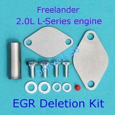 EGR blanking plate KIT 2.0L L-Series engine only Land Rover Freelander Honda MG