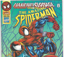 The Amazing Spider-Man #404 vs.Scarlet Spider from Aug 1995 in F/VF condition NS
