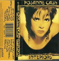 Interiors by Rosanne Cash (Cassette, Oct-1990, Columbia (USA))