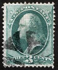 {stmpdlr} US Sc 136 Used Quarted Cork Cancel H Grill