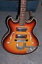 Vintage TEISCO Family Guitar BIGSBY 2 Pickup (HOT) 1V 1T 3-WAY VERY CLEAN!
