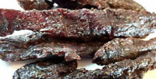 Bad Bart Cracked Black Peppered Jerky Hut Beef Jerky  1/2 Pound Bag  8oz Package