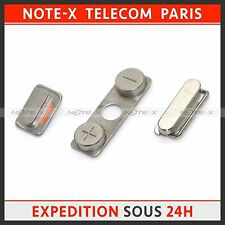 BRAND NEW SIDE VOLUME + MUTE SWITCH + POWER ON/ OFF BUTTON FOR IPHONE 4