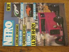 $$$ Revue Nitro Magazine N°59 201 Hi-boyDS Break 10 rouesCadillac limousines