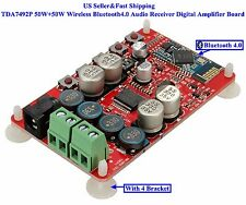 US TDA7492P 50W+50W Wireless Bluetooth4.0 Audio Receiver Digital Amplifier Board