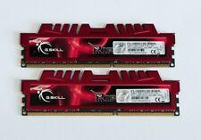 8GB Kit (2x4GB) DDR3-1600MHz PC3-12800 G.SKILL F3-12800CL9D-8GBXL *TESTED*