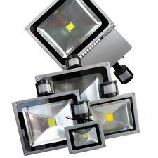 Faro Faretto Led Con sensore Di Movimento Esterno Crepuscolare Luce Proiettore