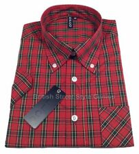 Cotton Check Regular Fit Casual Shirts & Tops for Men's 60s