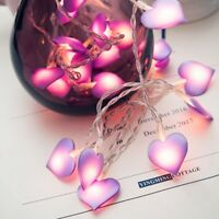3m LED Love Heart String Fairy Light Christmas Party Wedding Home Decor Lamp