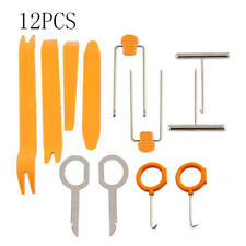 12x Car Radio Door Body Clip Panel Trim Dash Audio Plastic Removal Pry Tools Kit 12pcs
