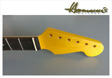 Stratocaster Canadian Maple Neck mit Pau Ferro Fretboard, Aged Nature Satin