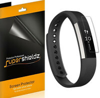 6X Supershieldz HD Clear Full Coverage Screen Protector Saver For Fitbit Alta HR