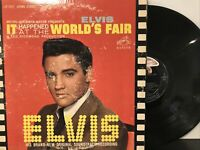 Elvis Presley – It Happened At The World's Fair LP 1963 RCA Victor – LSP-2697 VG