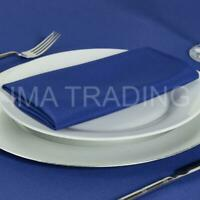 ROYAL BLUE TABLECLOTH TABLE CLOTH VARIOUS SIZES ROUND SQUARE RECTANGULAR