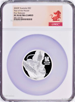 2020 Australia PROOF Silver Lunar Year of the MOUSE NGC PF70 2oz $2 Coin Series3