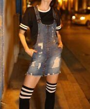 Dollhouse's ripped, zip-front denim Mini skirtall Size 5