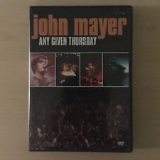 John Mayer - Any Given Thursday (DVD, 2003) includes all packaging