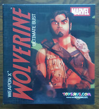 RARE Marvel WeaponX WOLVERINE ULTIMATE BUST Diamond Select Limited Edition NEW