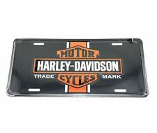 Harley Davidson Vintage Logo Licensed Aluminum Metal License Plate Sign Tag
