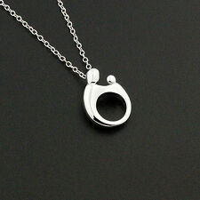 sterling silver Mother and Child Necklace Pendant charm with 925 chain N-07