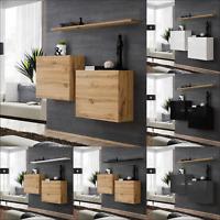 Sideboard Kommode Schrank Anrichte SWITCH I Wotan HOCHGLANZ PVC Push - Click