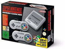 Super Nintendo Entertainment System SNES mini edition classic console 2017