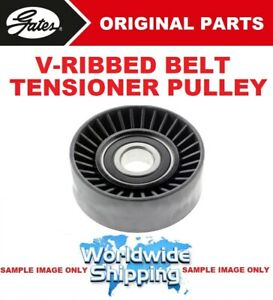 GATES V-RIB BELT TENSION PULLEY for RENAULT TRAFIC Box 1.9 dCi 100 2001->on